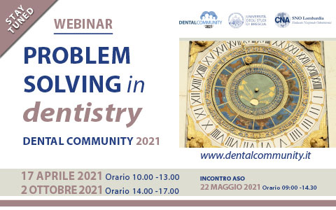 Problem solving in dentistry - Dental community 2021